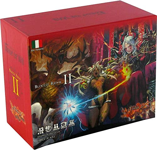 Force of Will Box von Buste, Farbe Rot, R2