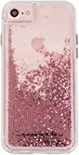 Case-Mate - iPhone 7 Case - Waterfall - Cascading Liquid Glitter - for iPhone 7 / 6s / 6 - Rose Gold