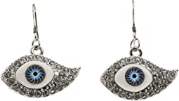 Kenneth Jay Lane - Protecting You Eye Earrings