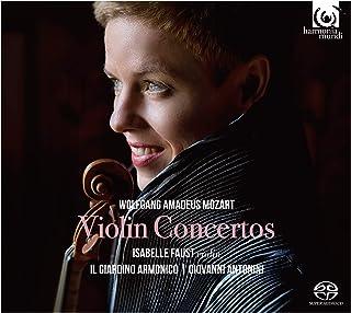 モーツァルト : ヴァイオリン協奏曲全集 (Wolfgang Amadeus Mozart : Violin Concertos / Isabelle Faust (violin) | Il Giardino Armonico | Giovan...