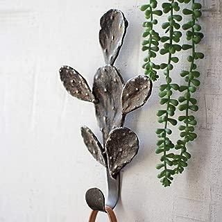 Black Forest Décor Cast Iron Cactus Coat Rack