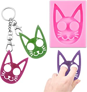 Kit kitty Cat Chapstick  Lip Balm holder keychain