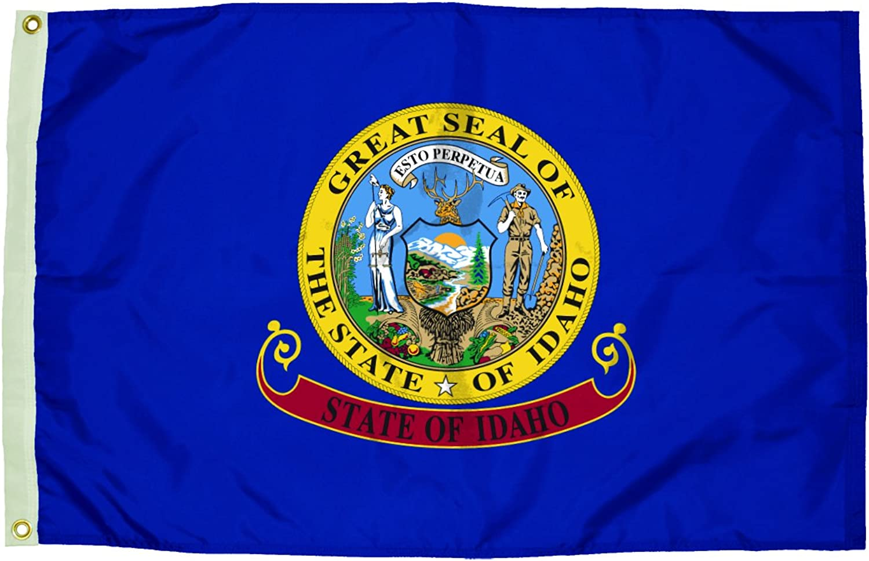 Independence Flag Nylon Idaho Flag, 3 x 5'