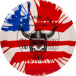 Westside Discs MyDye American Flag Disc Golf Disc | Overstable Putt and Approach Disc | Neutral Frisbee Golf Putter | Unde...