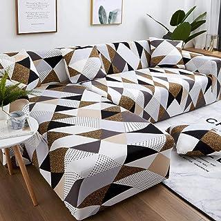 comprar comparacion Funda de Sofa Elástica Chaise Longue Brazo,Funda de sofá de Esquina elástica Universal, Funda de sofá seccional-Color 4_4 ...