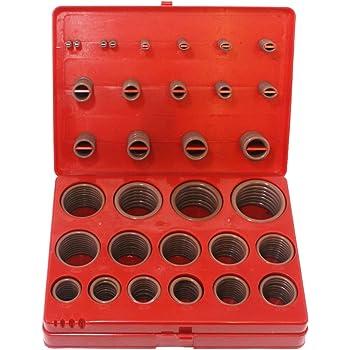 Pack of 250 Sterling Seal ORVT201x250 Viton Number-201 Standard O-Ring 70 Durometer Hardness Pack of 250 7//16 OD Sur-Seal 3//16 ID 7//16 OD 3//16 ID Fluoropolymer Elastomer
