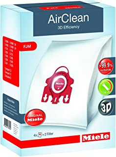 Best Miele AirClean 3D Efficiency Dust Bag, Type FJM, 4 Bags & 2 Filters Reviews
