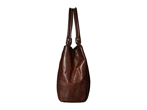 Pull marrón Tote Up Frye Melissa antiguo oscuro OAng0q
