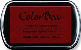 CLEARSNAP ColorBox Classic Pigment Full Size Inkpads, Cranberry