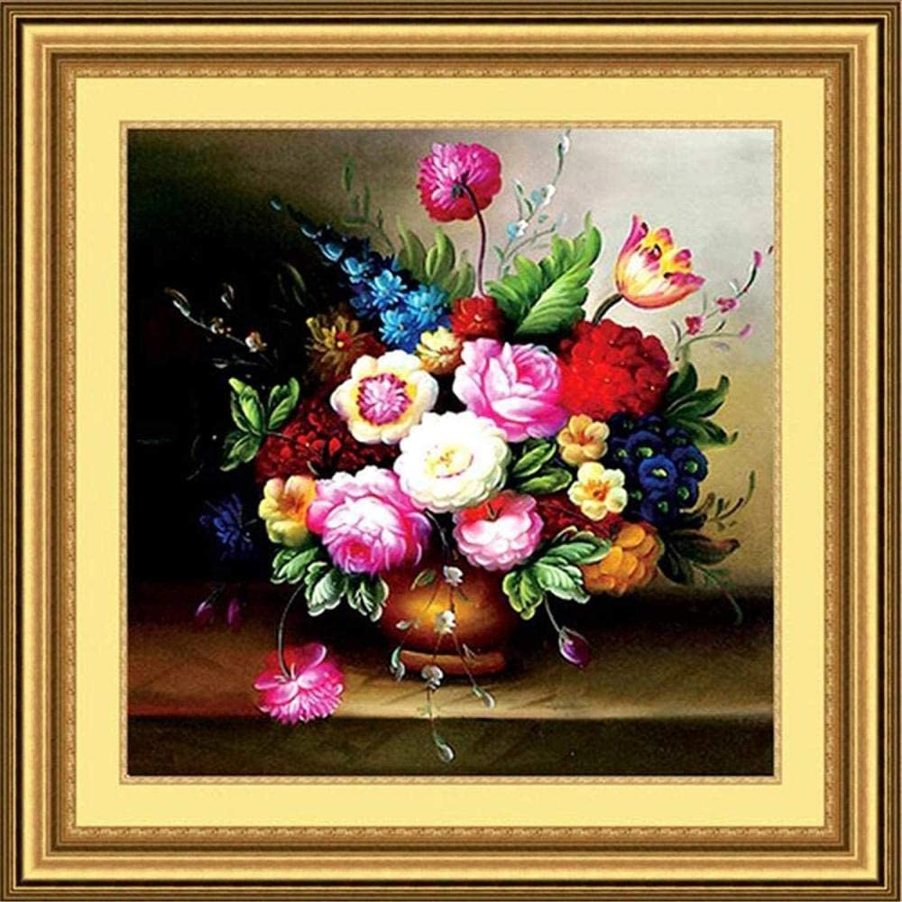 Stamped 5 ☆ very popular Houston Mall Cross Stitch Kits Beginners Embroidery Adult Pai Oil for