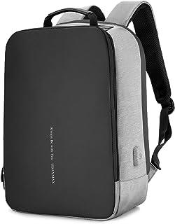 Mochila Antirobo Hombre Mujer, Mochila Portatil 15.6 de Seguridad Impermeable para Ordenador Laptop,Mochila USB para Negocio Escolar Trabajo Viaje,Laptop Backpack Cargador