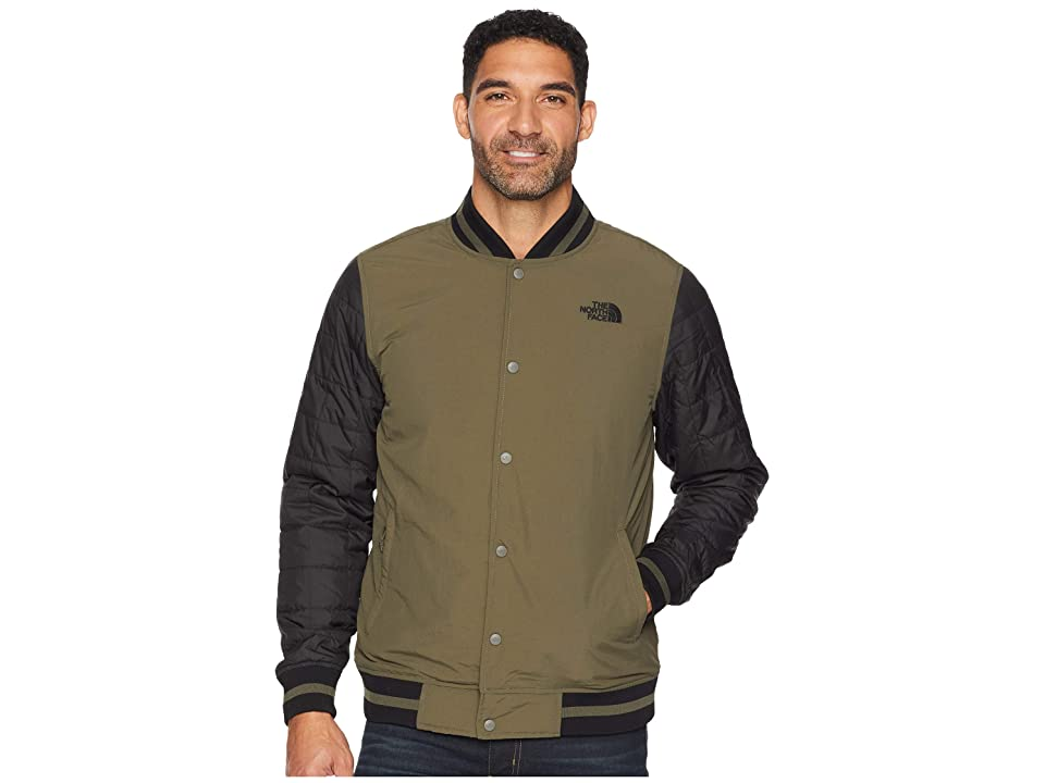 The North Face Transbay Insulated Varsity Jacket (New Taupe Green) Men