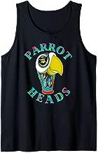Parrot Heads Fan Fun In The Sun Designs Tank Top