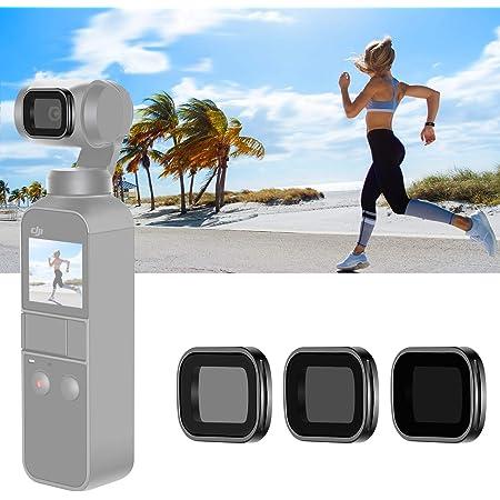 ND64 Lens Filter Optical Glass Aluminum Frame for DJI OSMO Pocket Camera