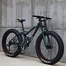 26 inch mountainbikes, MJH-01 volwassen vetband mountaintrailfiets, 24 speed fiets, high-carbon stalen frame dubbele volle...
