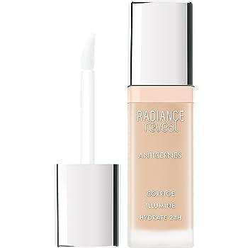 Bourjois Correttore Liquido Radiance Reveal, Copriocchiaie Illuminante e Revitalizzante con Acido Ialuronico, 01 Ivory