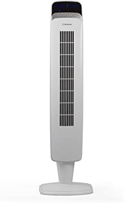 "Westinghouse 40"" Tower Fan w/ Remote, White"