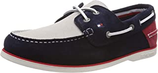 Tommy Hilfiger Men's Classic Suede Boat Shoes