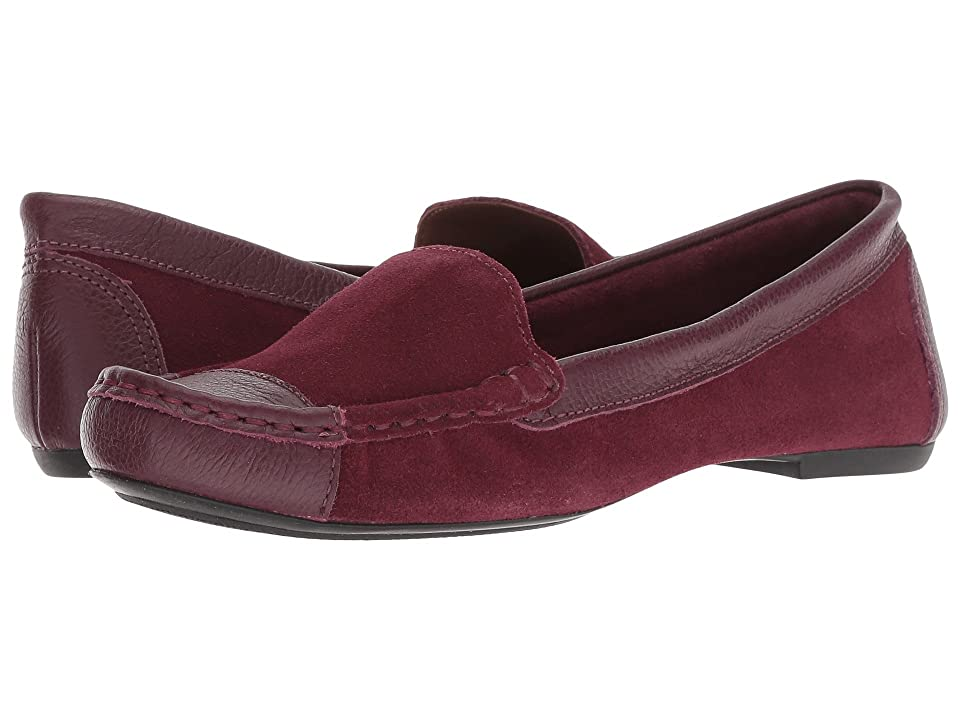 French Sole Allure2 Driver (Bordeaux Suede) Women
