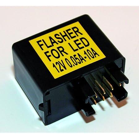 Led Blinker Relais Blinkerrelais Gsx 600 750 1000 K1 K2 K3 K4 K5 K6 K7 K8 K9 Suzuki 7 Pin Auto