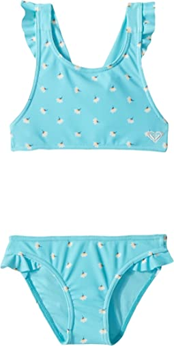 Blue Radience Swim Flower Twist