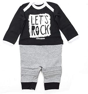 Body Converse bébé garçon gris et bleu 0 6mois