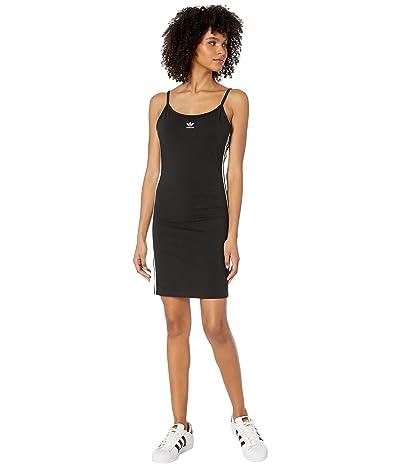 adidas Originals adiColor Tank Dress (Black/White) Women