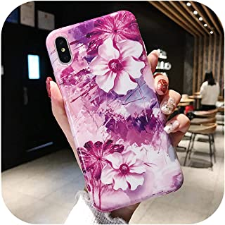 Dremy1 大理石の電話ケースfor iPhone 7ケース高級ソフトシリコンカバーfor iPhone 6 6s 7 8 Plus X for iPhone XR XS MaxケースFundas Capa-H-for iPhone X