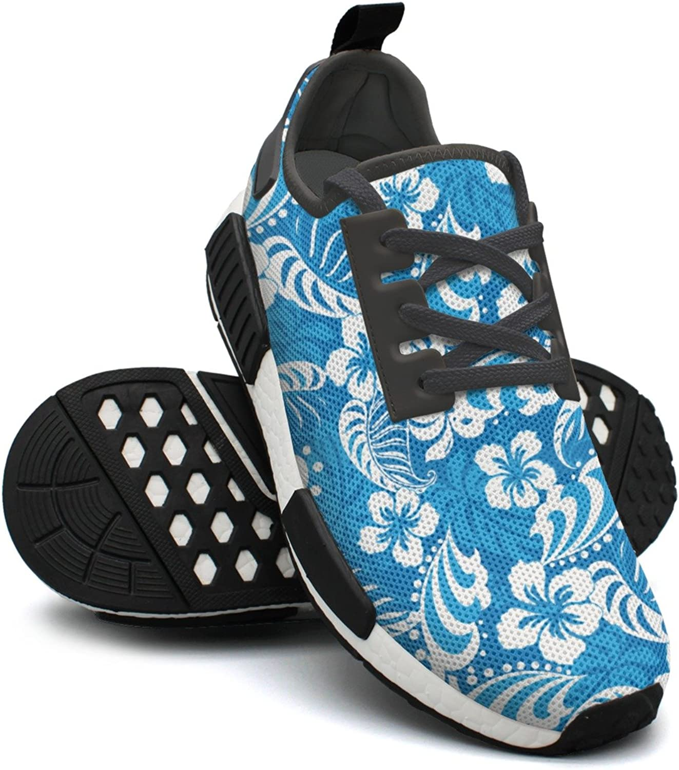 Hibiscus Abstract Tropical Women Minimalist Running shoes Nmd Sports shoes Wide
