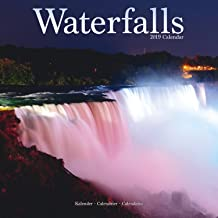 Waterfalls Calendar - Calendars 2018 - 2019 Wall Calendars - Photo Calendar - Waterfalls 16 Month Wall Calendar by Avonside