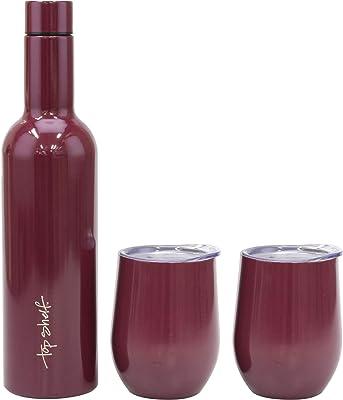 Top Shelf TS-001MGS3 Wine Growler, 750 ml