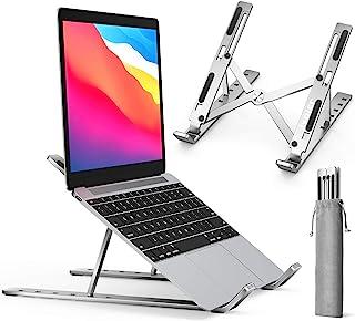 ivoler Laptopstand verstelbare multi-hoek opvouwbare, Draagbare tablethouder voor Lichtgewicht ruimtebesparende ergonomisc...