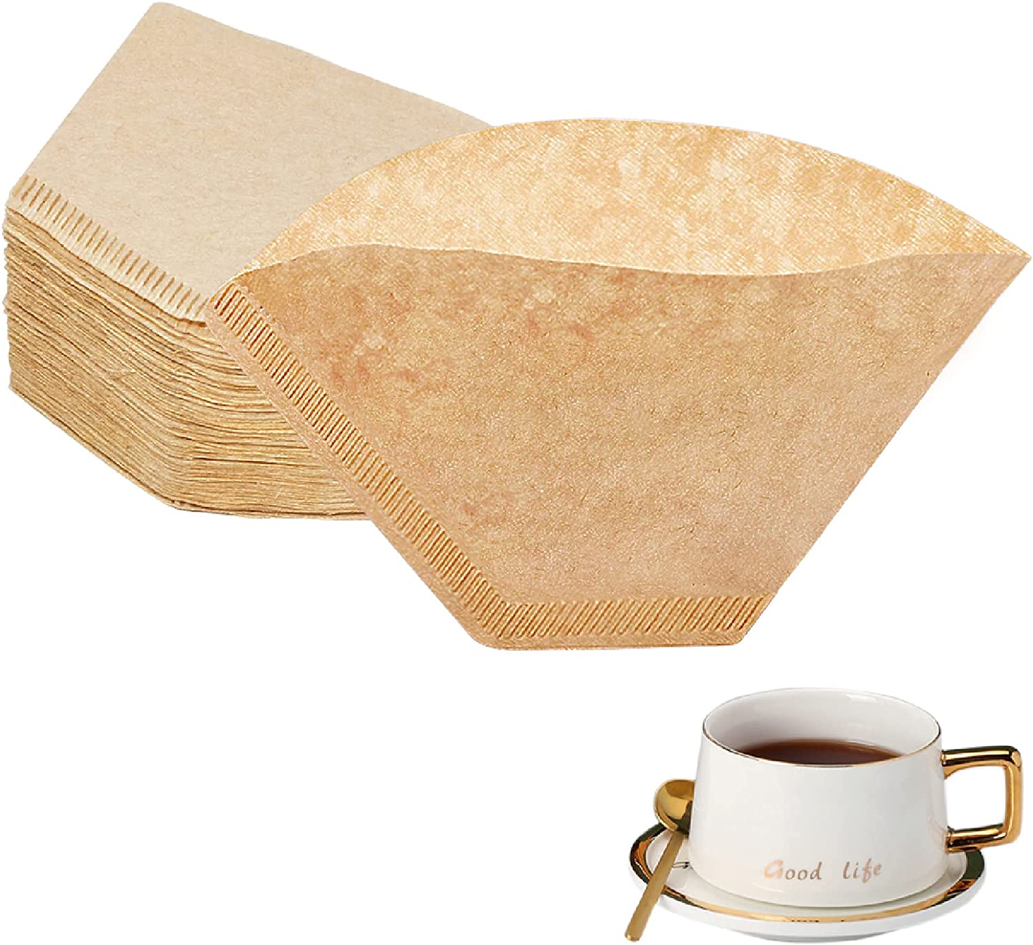 BYKITCHEN Cone Coffee Filters Set Online limited product Size 2 67% OFF of fixed price 200