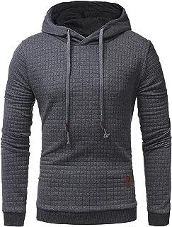 کت و شلوار مردانه پیراهن ورزشی ورزشی Hooded Sweatshirt Plain وزن سنگین پشم گوسفری پیراهن مردانه