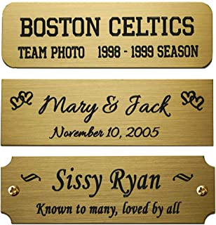 Best engraved sticker plates Reviews