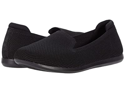 Clarks Carly Dream (Black Solid Knit) Women