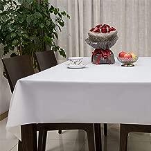 Sedioso Heavy Duty Plastic Tablecloth,(6 Pack) 54
