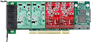 DIGIUM 1A4A04F - Digium A4A Voice Board - PCI - 2 x FXS - 2 x FXO - Plug-in Card