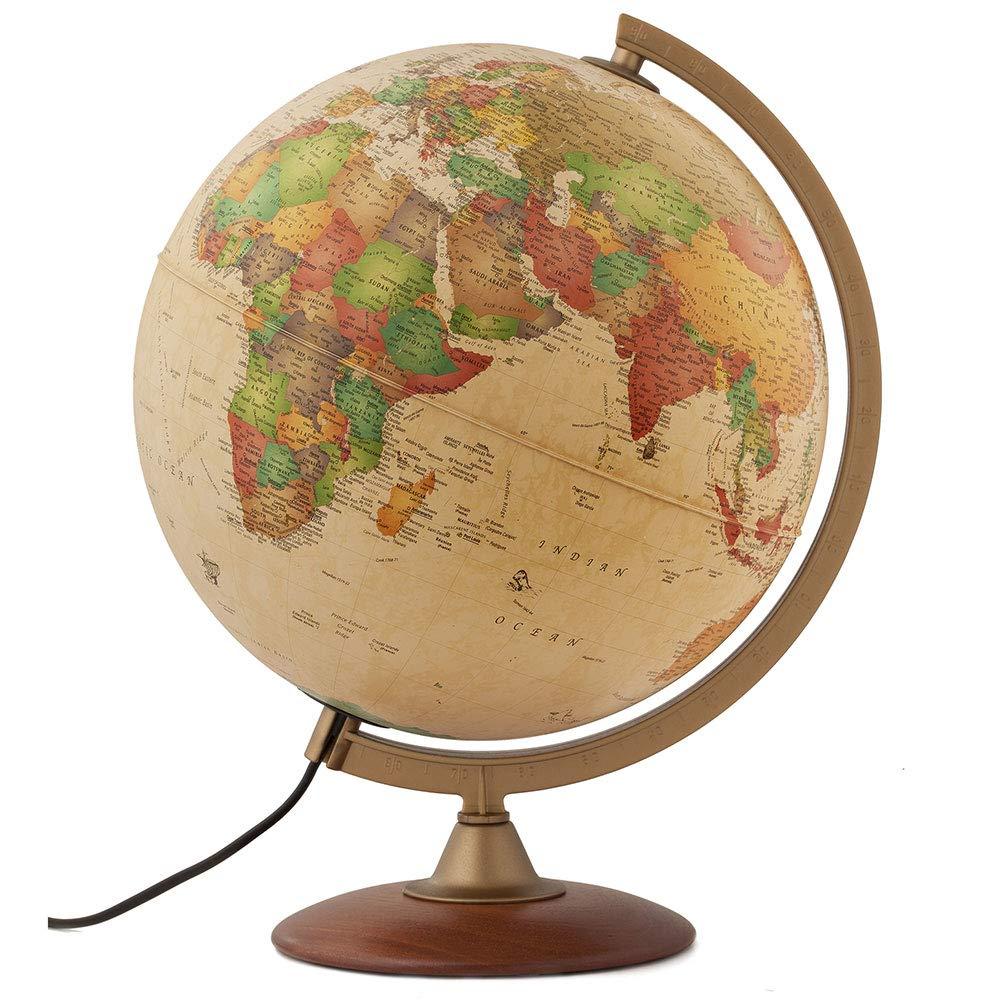 Journey Diameter Antique Style Globe
