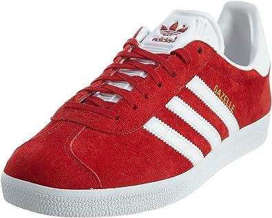 Amazon.com   adidas Originals Men's Gazelle Lace-up Sneaker Red ...