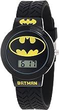 Batman Kids` BAT5041 Batman Watch with Black Rubber Band