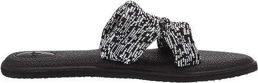 Black Multi Knit