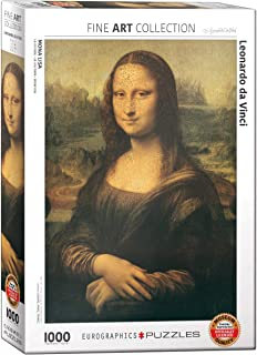 EuroGraphics Mona Lisa by Leonardo Da Vinci Puzzle (1000 Pieces)