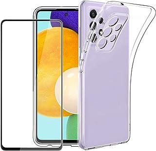 EasyAcc Durchsichtige Silikon Handy Hülle Kompatibel mit Samsung A52/ A52s Handyhülle Schutzhülle Cover Case