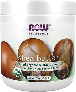 Now Foods Organic Shea Butter, 207ml