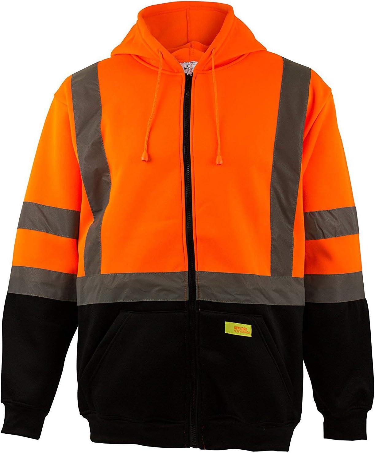 New York Hi-Viz Workwear favorite H9011 Men's High Visibilit 3 Class Ranking TOP16 ANSI