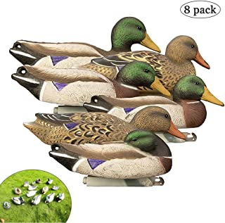 Wing Enterprises Decoy Ducks for Pond, Hunting Decoys Duck, Outdoors Standard Mallard Decoy, Vivid Decor for Field Yard Garden Pond, Teaching Aids for Kids, Realistic Hunting & Shooting Accessories