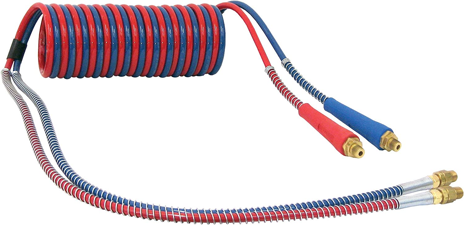 Tectran 20 ft. Red Blue Tractor-Trailer Coil Challenge the lowest Surprise price price of Japan ☆ Air Brake Se Hose