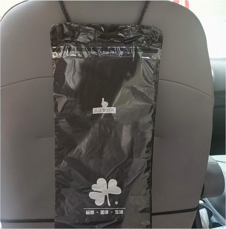 100PCS Disposable Car Trash Bag Bin Black Kitchen Adhesive Trash Can for Car Garbage Bag Holder Waste Bags Waterproof Container Car Trash Bag for Kids Room Study Room