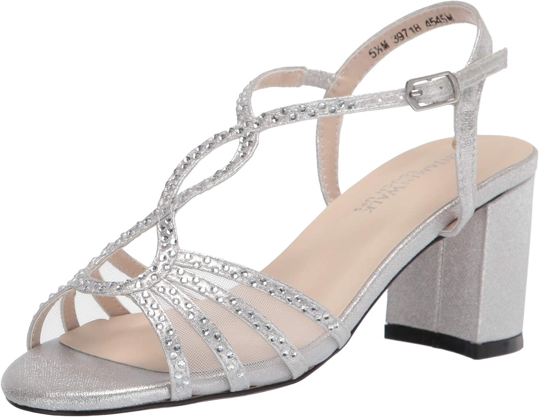Touch San Francisco Mall Ups Women's T-Strap Heel Heeled Block Free shipping / New Sandal